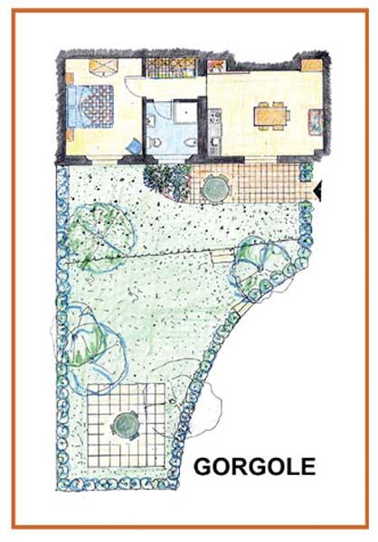 Farm Holidays La Baghera - La Baghera - Gorgole Apartment - Layout